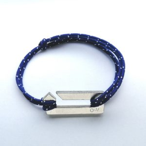 Bracelet One Way bleu